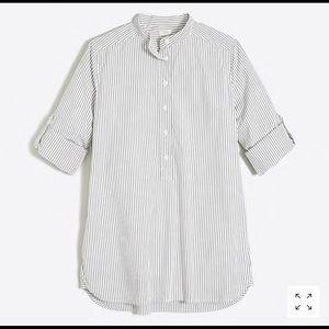 J.Crew Striped Tunic Shirt
